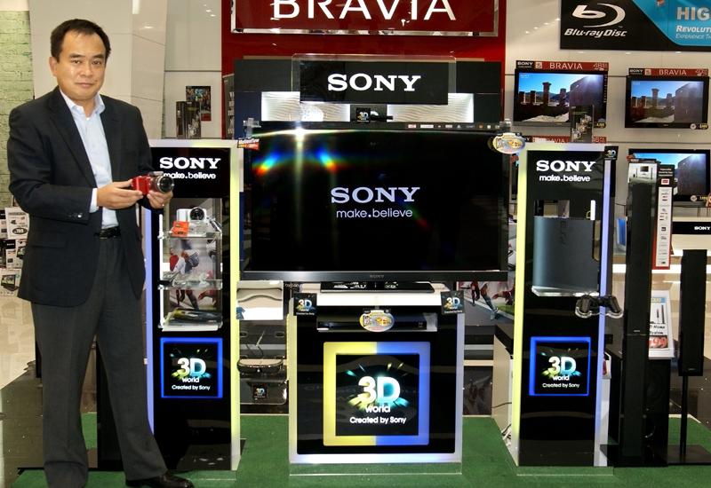 Osamu Miura, managing director, Sony Gulf - 3D World.