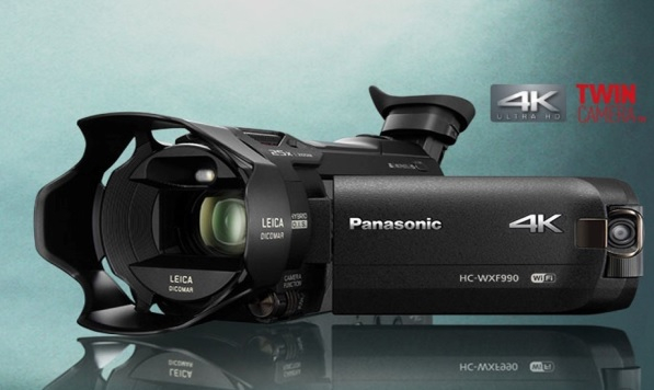 Panasonic also demonstrated its new 4K ultra-high definition Camcorder WXF990 at CABSAT.