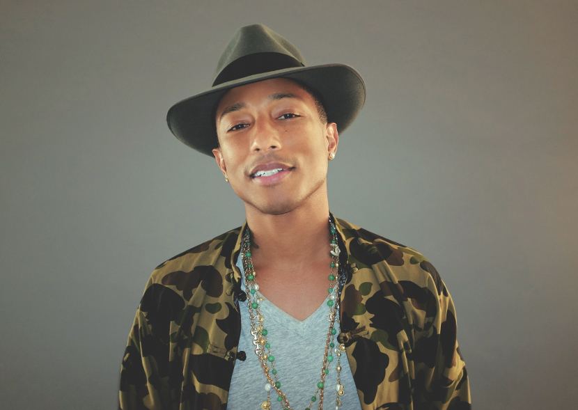 Pharrell Williams will be bringing his catalogue of hits to the Capital.