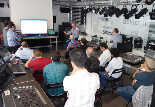 The Dubaisession was the first of more planned training sessions in the region.