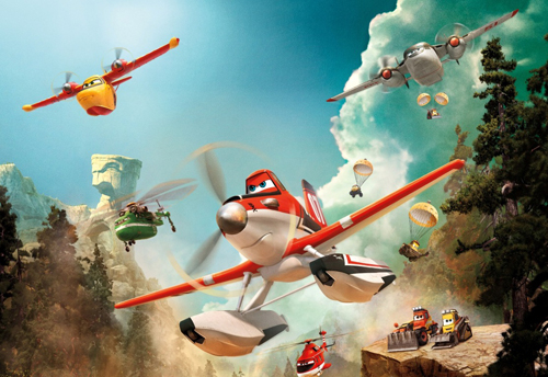 Planes: Fire & Rescue is just one of the movie premieres on OSN this month.