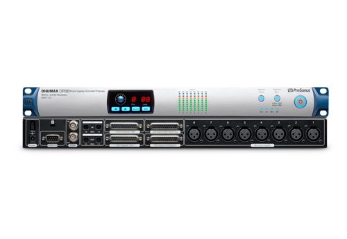 Audio, DigiMax, DigiMax DP88, Gear, New, Preamp, PreSonus, Recording, Recording studio, Studio, Latest Products