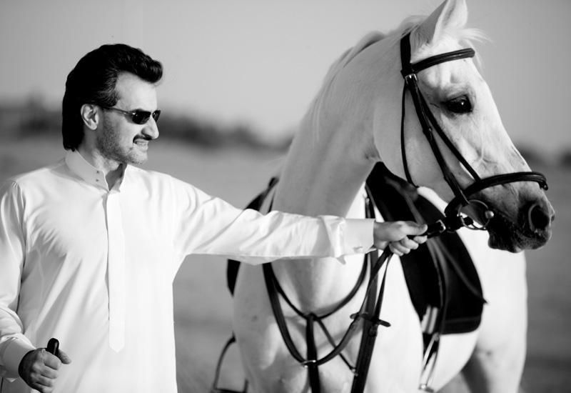 HRH Prince Alwaleed bin Talal bin Abdulaziz al Saud.