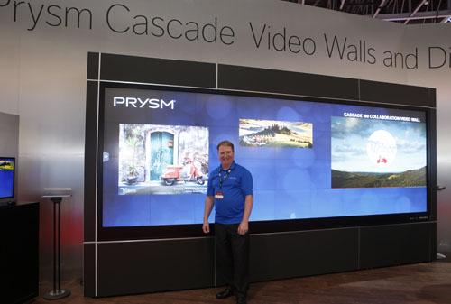 Tim Messegee, VP marketing, Prysm Inc.