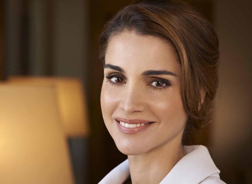Queen Rania Al Abdullah.