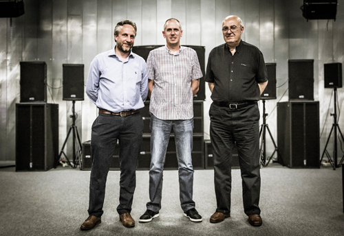 (L-R) Miles Brooke, Dean Davoile and Phil Price.