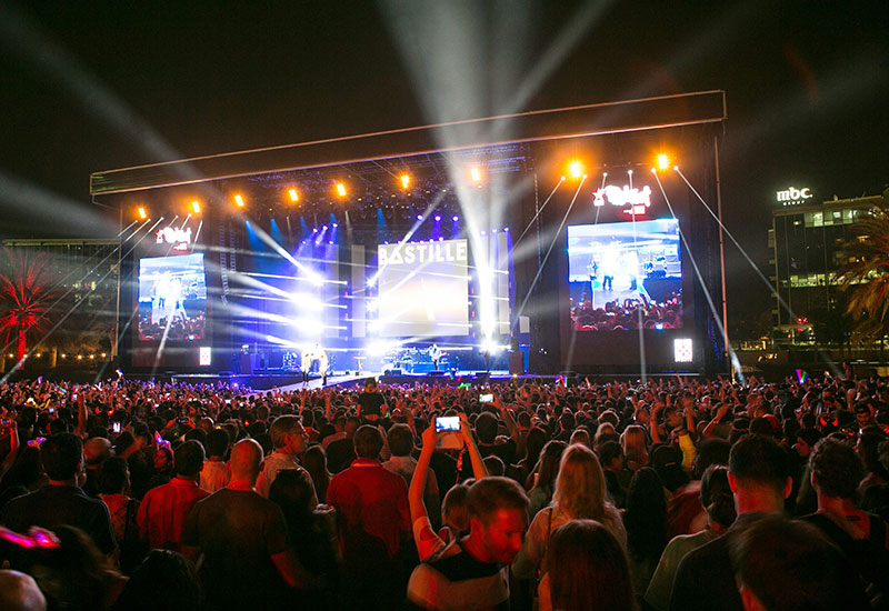 Chart topping acts kept the crowds entertained at RedFest DXB 2015.