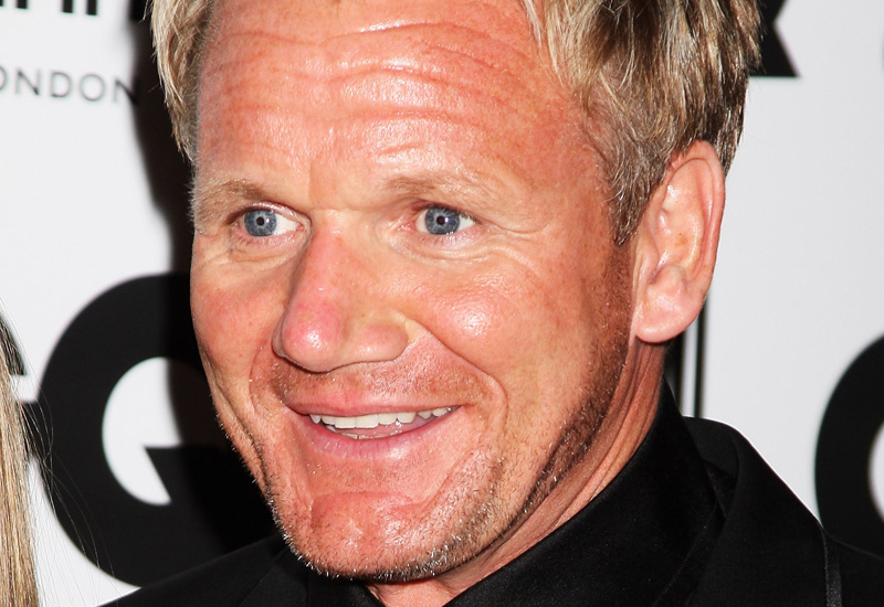 Gordon Ramsay hosts the US version of Masterchef.
