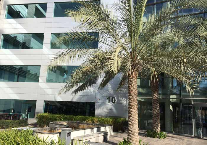 Riedel's new regional Middle East office is in Dubai Media City.