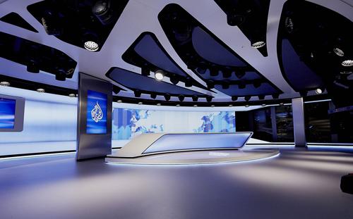 Al Jazeera UK, Led lighting, Lighting, London, Robe, Studio, News, Delivery & Transmission