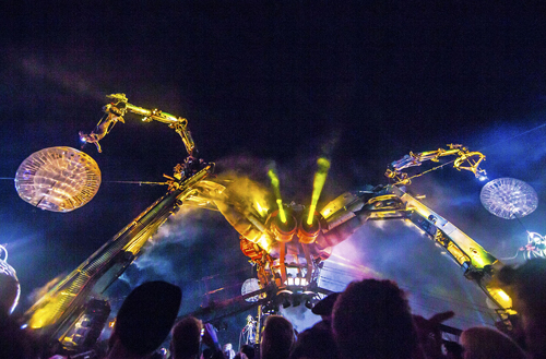 The Arcadia Stage spider