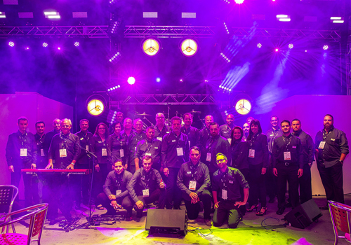 The Robe team at LDI 2015 (photo: Louise Stickland)
