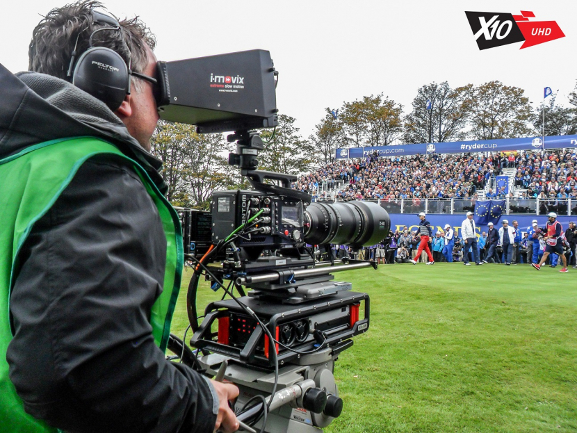The Ryder Cup was chosen by Sky Sports as a test for its 4k broadcast technology