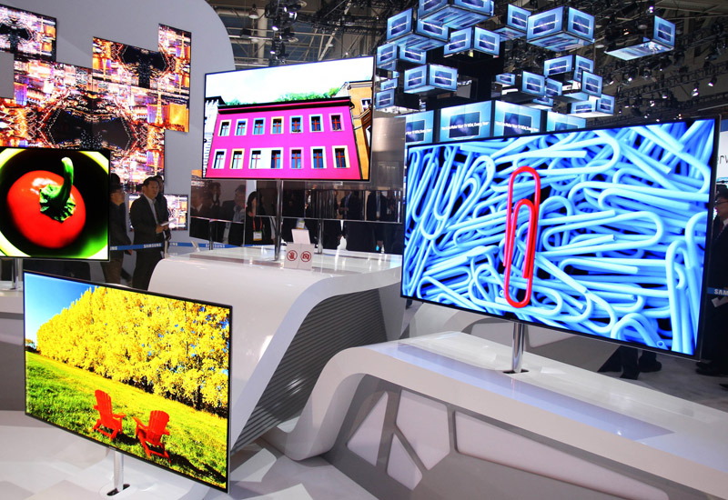 The ES9000 OLED TV and UNES8000 LED TV are the latest additions to Samsung's Smart TV portfolio.