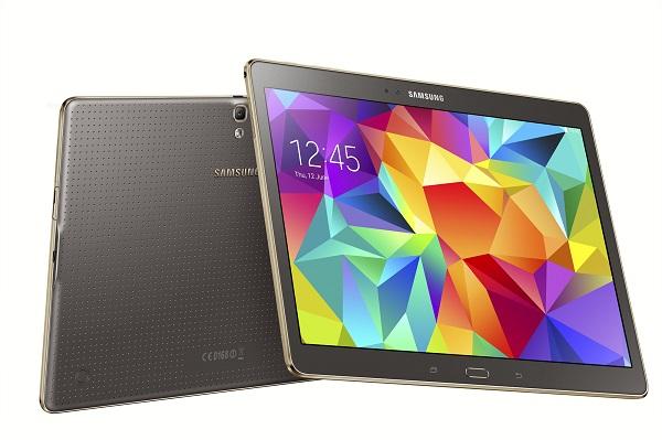 Samsung Galaxy Tab S designed for second screen phenomenon