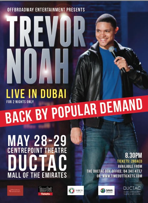 Dubai, Trevor Noah, News, International News