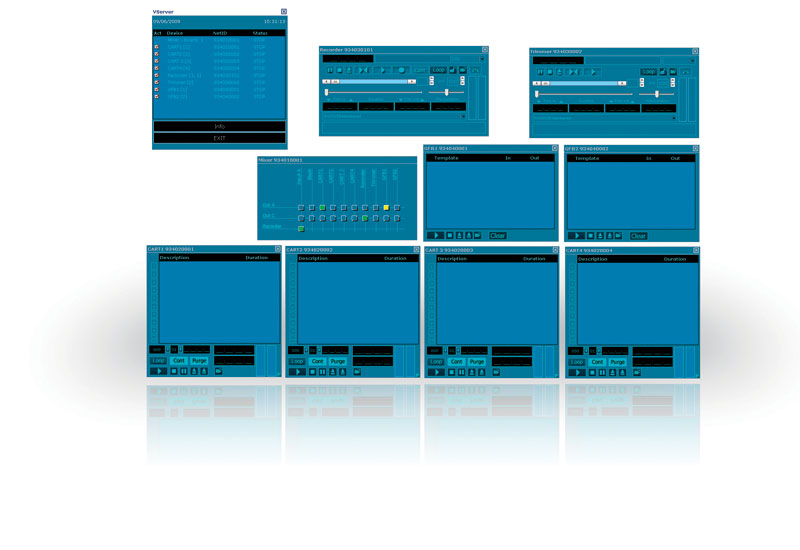 Broadcast server, EVS, Omneon, Qualcomm, Ross video, Server, Vector 3, Latest Products