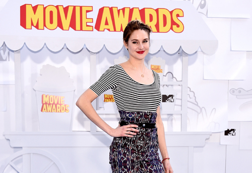 Shailene Woodley took home four awards including Best Female Performance.