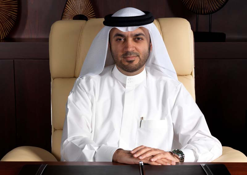 His Excellency Dr. Khalid Al Midfa, director general of Sharjah Media Corporation.