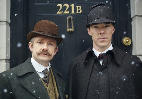 BBC First will feature a selection of popular British series such as 'Sherlock'.
