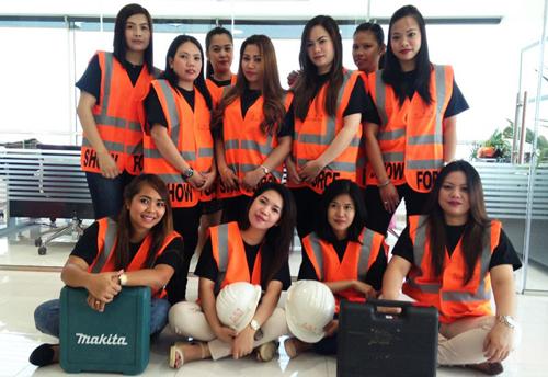 Construction, Dubai, Event, Female, SHOWFORCE, Spendlove Group, Staff, Staging, Work, News, Content management
