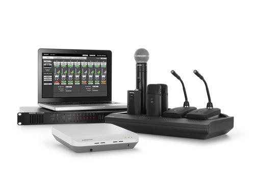 Shure's MXW product suite.