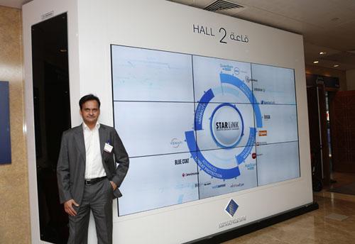 Manoj Thacker at InfoComm 2014.