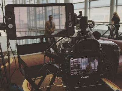 SmallHD manufactures on-camera monitors. (photo: Dan Kanes)