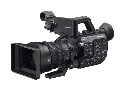 The compact new PXW-FS5 was unveiled at IBC2015.