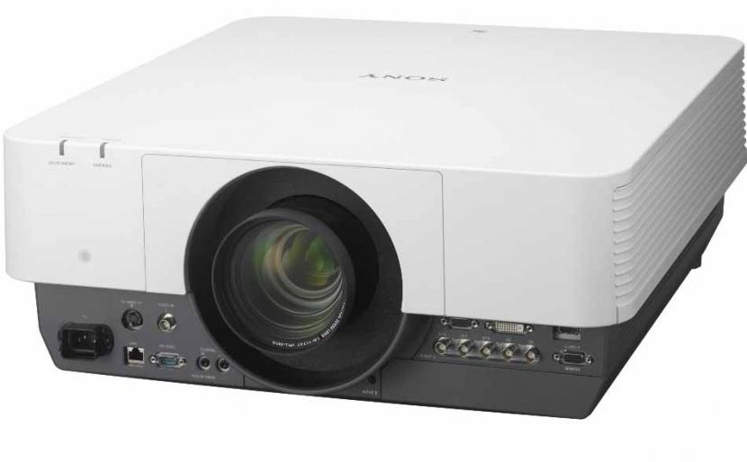The 4K VPL-VW300ES home cinema projector at GITEX.