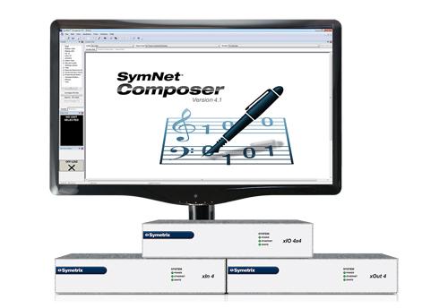 Composer, Dante, New, Symetrix, Symnet, SymNet Composer 4.0, News, Consumer-facing Tech