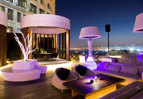 Audio, Bar, Doha, Hotel, Lambda Labs, LIVE, Music, Nightclub, PA, Qatar, Speakers, St Regis, The Rooftop, VENUe, News, Content production
