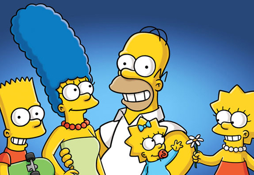 The Simpsons has been on air since 1990.