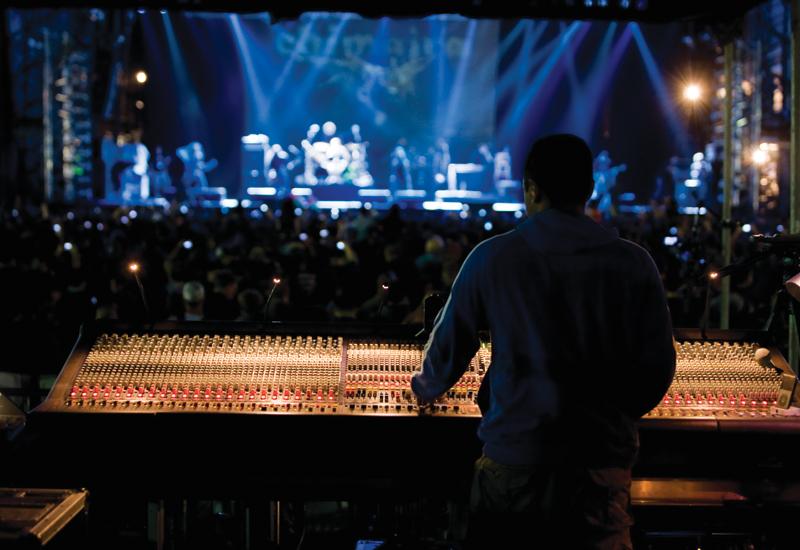 Desert Rock Festival, Festival City, Dubai, UAE, March.