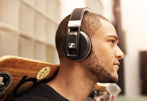 The new Urbanite XL Wireless headphones by Sennheiser.