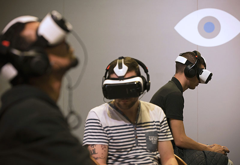 Gamers get their hands on the Oculus Rift prototype