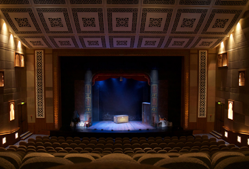 'The Woman in Black' at the Madinat Theatre.
