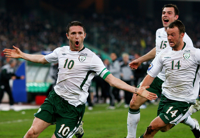 Robbie Keane and co. will be able to enjoy the World Cup in 3D.