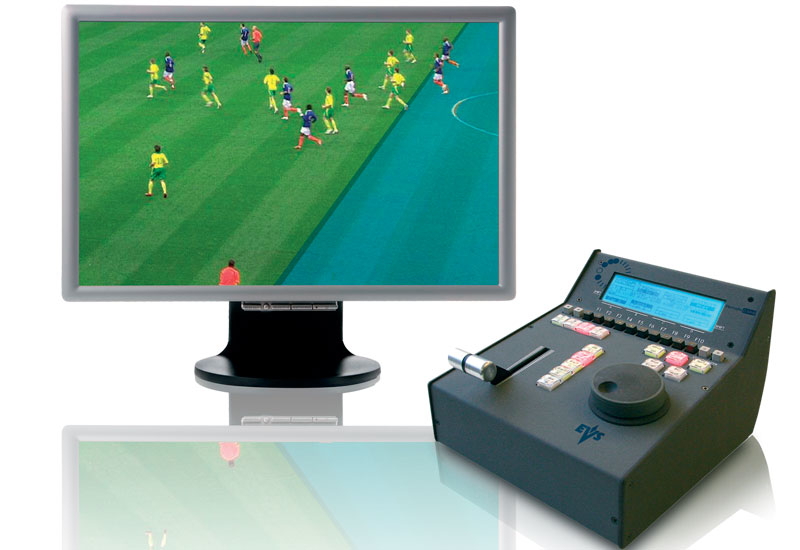 Epsio is EVS's graphical analysis tool for live sports events.