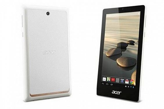 """The Acer Iconia One 7 runs on Android 4.2 (Jelly Bean) and is said to be """"smooth"""" for games and video."""