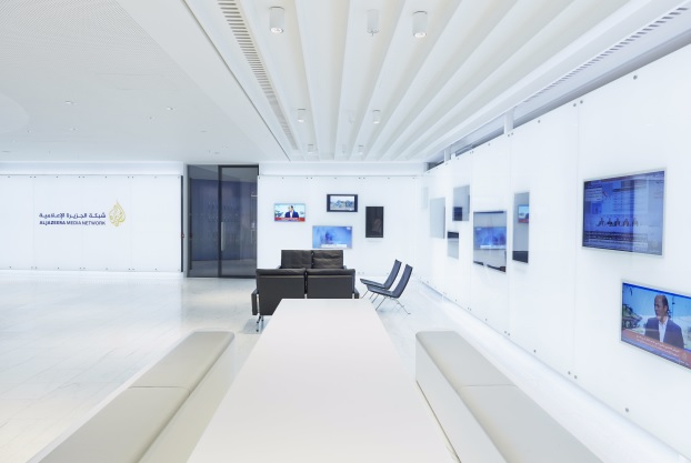 Al Jazeera's London studio.
