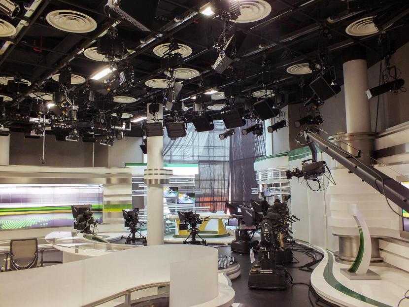 A studio at Alarab TV in Bahrain.