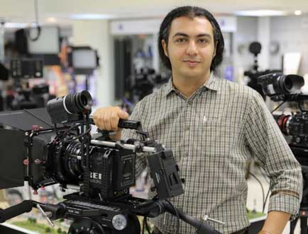Pejman Ghorbani, senior product manager at distributor Advanced Media Trading
