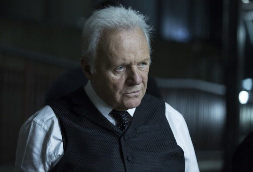 Anthony Hopkins stars as the Dr. Robert Ford in Westworld.