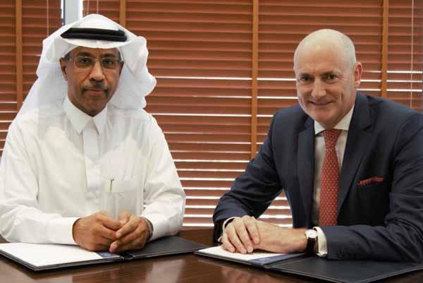 Khalid Bin Ahmed Balkheyour and Sam Barnett.