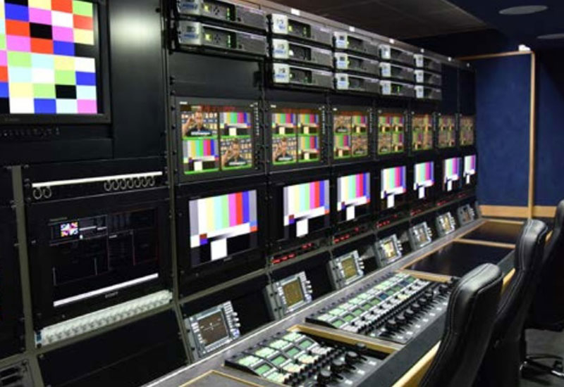 Camera shading area on one of Arena's new 4K OB vans.