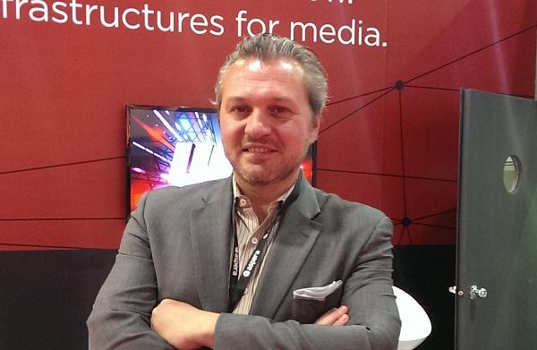 Francois Quereuil, senior director, worldwide marketing at Aspera.