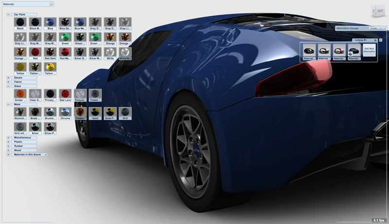 Autodesk software is used for pre-viz simulations.