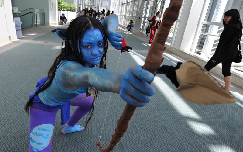 Taking Avatar in 3D to extremes.