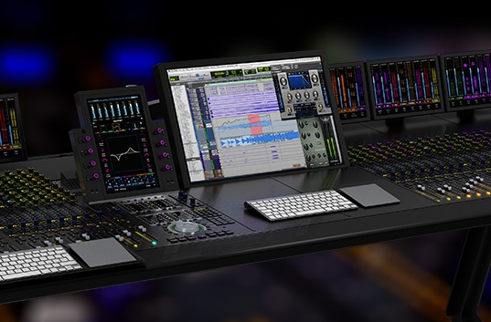 The joystick is designed for use with ProTools l 6